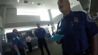TSA Interaction @ DIA Additional Body Screening After Landing????