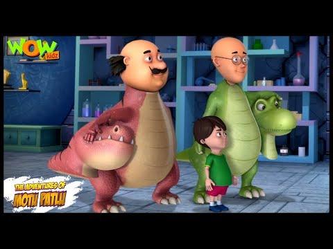 Motu Patlu New Episode  Cartoons  Kids TV Shows  Chotu Ka Project  Wow Kidz