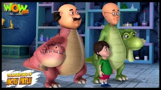 Motu Patlu New Episode | Cartoons | Kids TV Shows | Chotu Ka Project | Wow Kidz