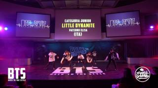 BTS 2K17 - CHOREOGRAPHIC 3°Place (Junior A) \\ Little Dynamite (Italy)