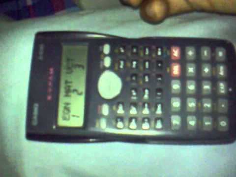casio fx 82ms trick to convert into fx 570 ms and do complex  vectors and equation calculations