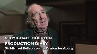Sir Michael Hordern Reflects on His Passion For Acting