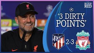 Jurgen Klopp on Diego Simeone Handshake Snub | Press Conference | Atletico Madrid 2-3 Liverpool
