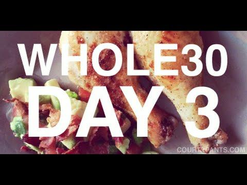 Whole30 Day 3 | Raisins + Bad Smells