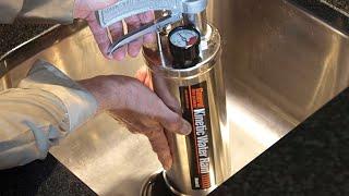 काइनेटिक जल राम भरा हुआ नालियों तेजी से साफ करता है - जनरल पाइप क्लीनर