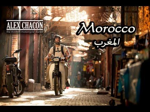 Riding a C90 Scooter through Marrakech Morocco - A cultural ride through North Africa