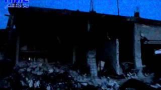 اثار الدمار على قرية الحويجة ريف حماة الغربي 26-2-2015