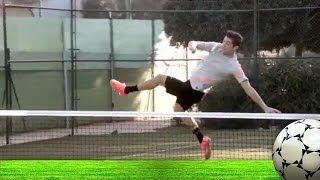 Nadal vs Cristiano Ronaldo?!! Tennis Footsy: A new sport is born