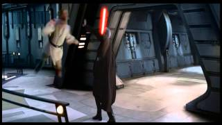 Anakin & Obi-Wan vs Count Dooku (ROTS) HD