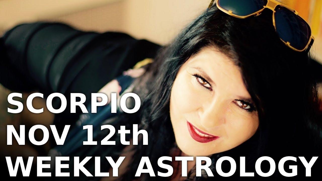 scorpio weekly horoscope 8 december 2019 michele knight