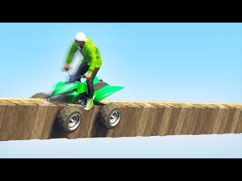 EXTREME BACKWARDS QUAD GRINDING! (GTA 5 Funny Moments)