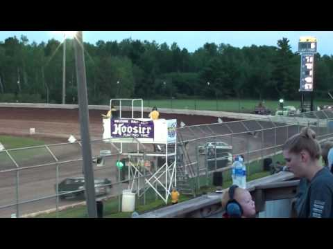Neil Adamzak Six-Cylinder Heat Race ABC Raceway 8-5-17