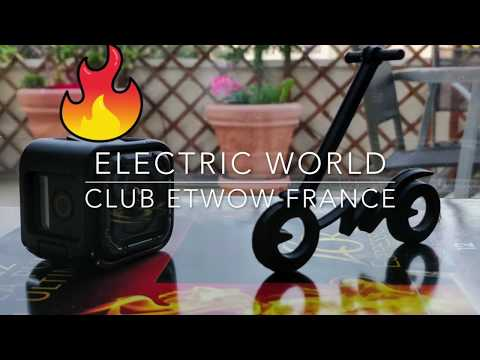CLUB Etwow France - We drive 2 Electric Scooters (awesome)