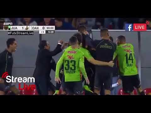 Golazo de Juárez vs alebrijes FINAL (liga de ascenso MX AP. 2017)