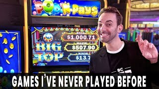 🎰 NEW GAMES! 🎪 Pop N Pays BIG TOP Brings BIG WINS 🎈 Choy's Fortune is OUR FORTUNE