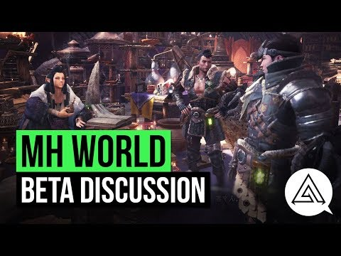 Monster Hunter World | Beta Discussion w/ TwoSixNine, Paradise & Socks