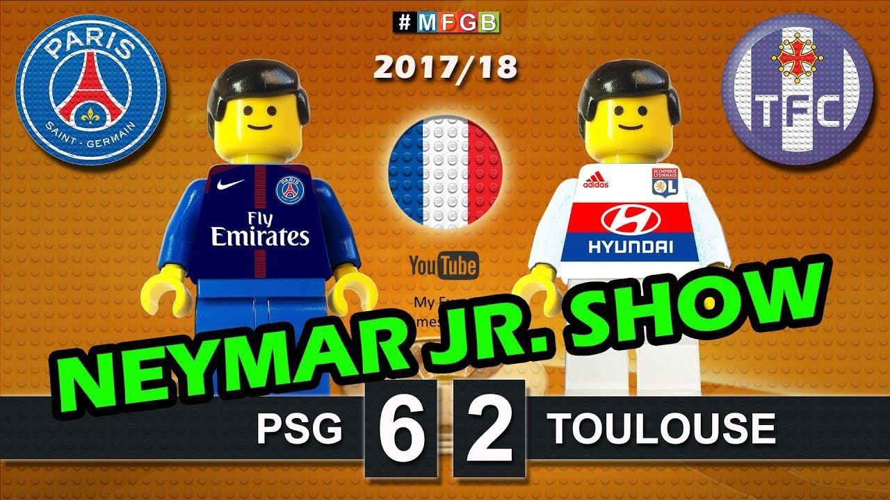 Coloriage Football Fcb.Paris Saint Germain Psg Vs Toulouse 6 2 Ligue 1 Neymar Jr