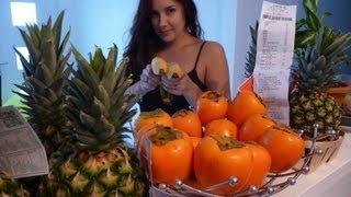 Gros haul fruité d'automne, le plein de fruits exotiques !