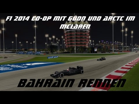 Formel 1 2014 - Co-OP - Bahrain/Nachtrennen - Rennen #9