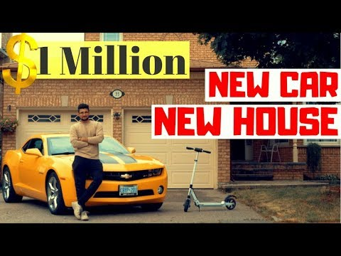 New House and New Car Tour CANADA 2018