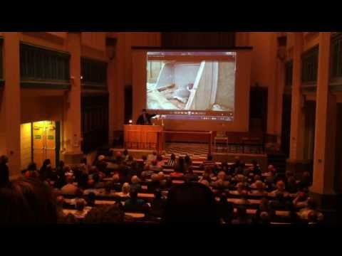 University talk on the Sheffield Peregrines at St. Georges lecture theatre.
