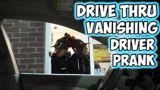 Drive Thru Vanishing Driver Prank