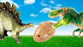 Dinosaurs - Tyrannosaurus Nora substituted the eggs - Dinosaurs cartoon thumbnail