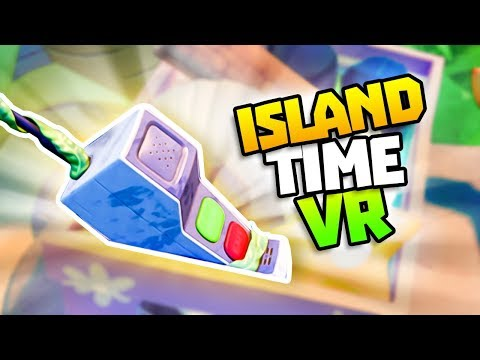THE SECRET ISLAND PHONE! - Island Time VR Gameplay - VR HTC Vive Gameplay