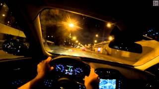 Jaguar XE FPV Driving in 4k / Безмолвная поездка в 4k на Ягуар Икс Е