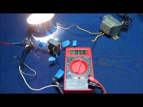 Bucking Amplifying Transformer Energy Gain