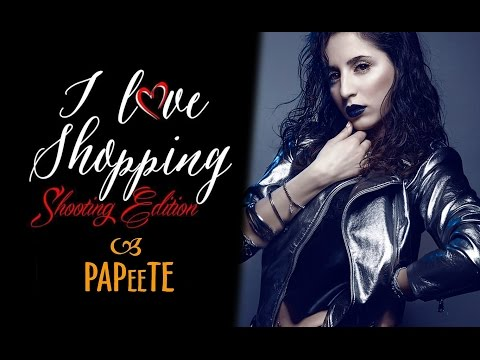 """BACKSTAGE  """"I LOVE SHOPPING"""" - SHOOTING EDITION  BY JAK - PHOTOGRAPHER @ PAPEETE BAR"""