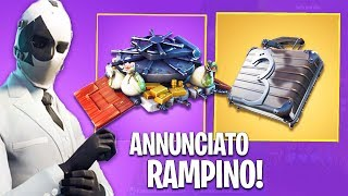 ¡Es OFICIAL! ¡EL RAMPINO! SCASSINATO RE SKIN INCOGNITA! Fortnite Australia