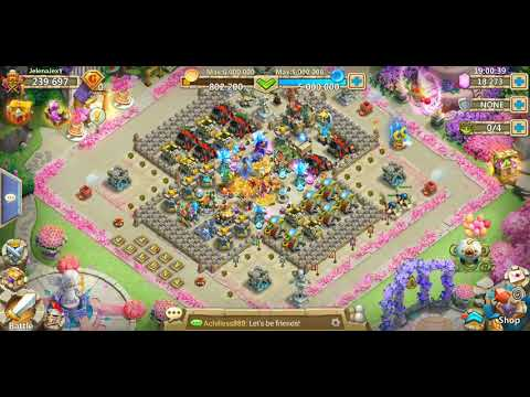Castle Clash My New Background