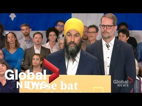 Canada Election: NDP Unveils Quebec Platform
