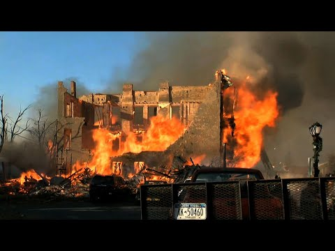 Raw: 'Reckless Arson' Blamed For Upstate NY Fire