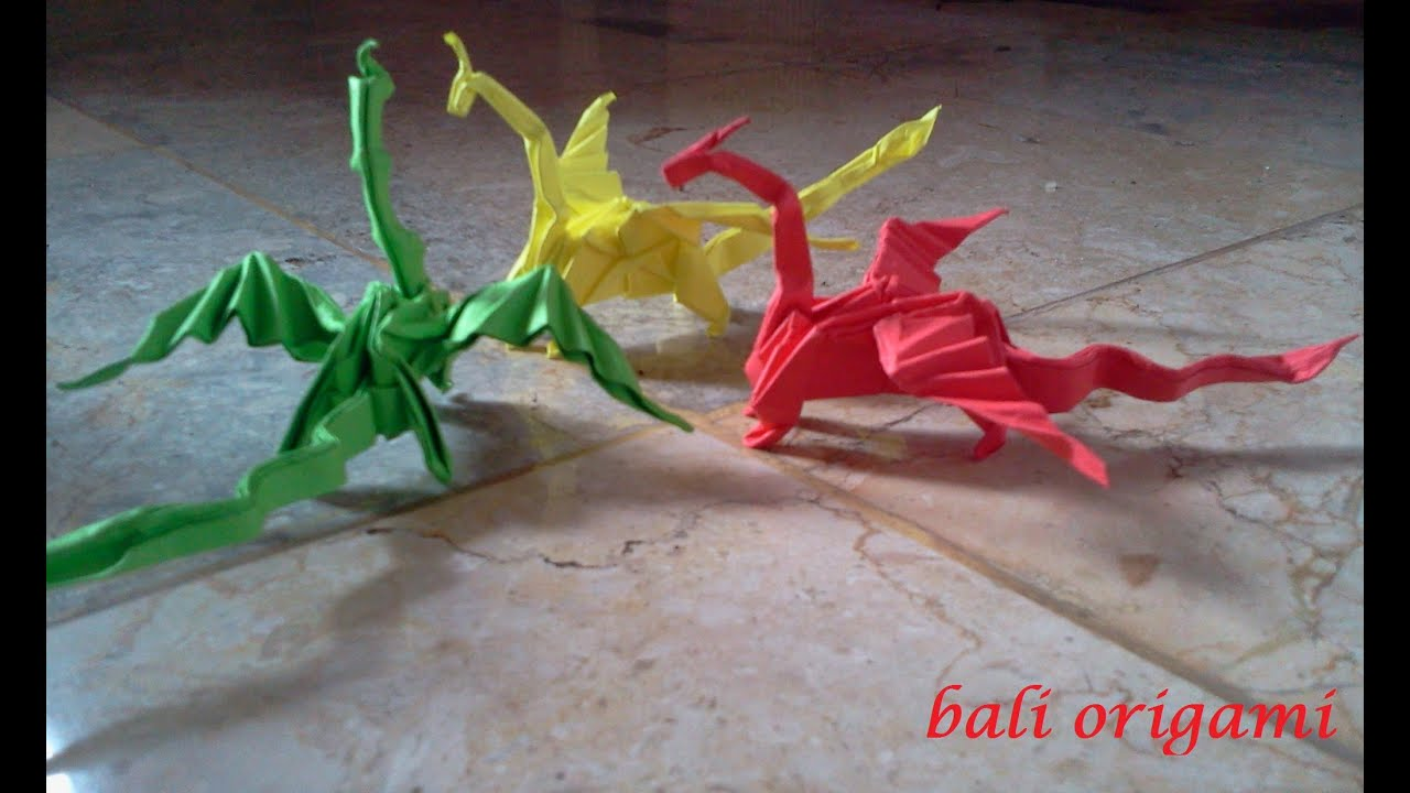 3d Scanner Image: 3d Origami Dragon | 720x1280