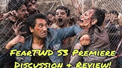 FEAR THE WALKING DEAD SEASON 3 PREMIERE REVIEW DISCUSSION! (FACEBOOK LIVESTREAM)