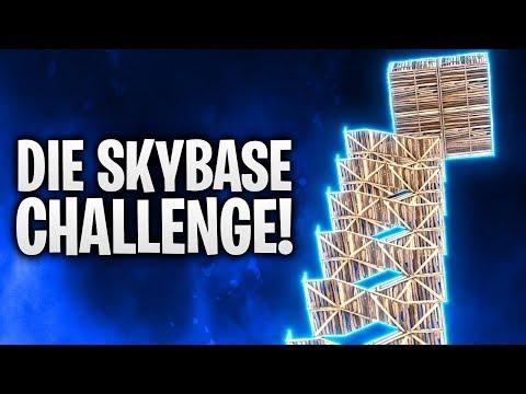 DIE SKYBASE CHALLENGE... 🌃 | Fortnite: Battle Royale