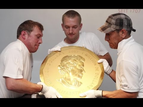 $4.5 Million Dollar Record Gold Coin Stolen In Germany.
