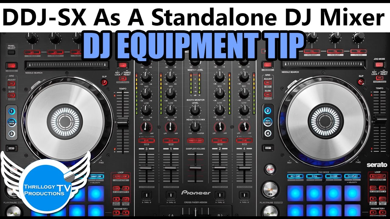 Pioneer DDJ-SX2 Review / Test - YouTube