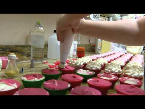 Cupcake Soap Making by Edens Secret - YouTube