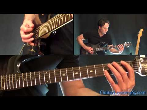 Master of Puppets Guitar Lesson  Metallica  Intro