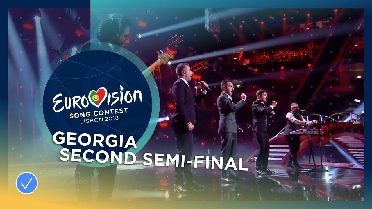 Ethno-Jazz Band Iriao - For You - Georgia - LIVE - Second Semi-Final - Eurovision 2018