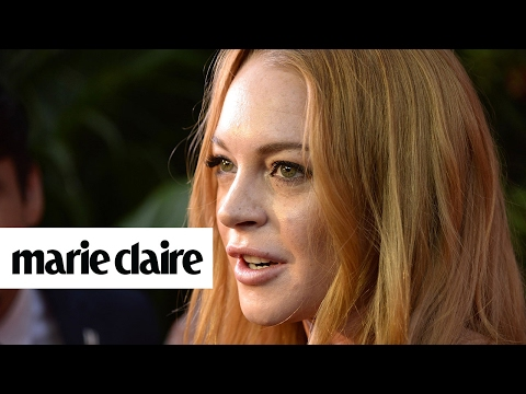 Lindsay Lohan Says We Should Support Donald Trump and More News | Marie Claire