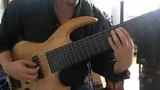 eric czar 7 string fretless bass