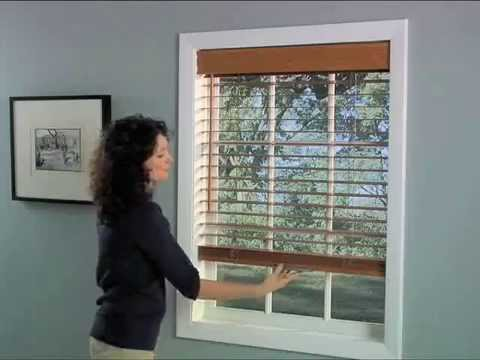 inch wood forest smoothslat slat lake blinds hotizontal blind product forrest faux smooth graber