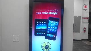 Reactive retail solutions motion activated display