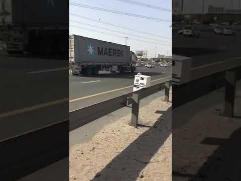New camera in dubai emirates and sheikh mohammed bin zayed road