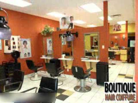 Boutique Hair Coiffure - Quebec - YouTube