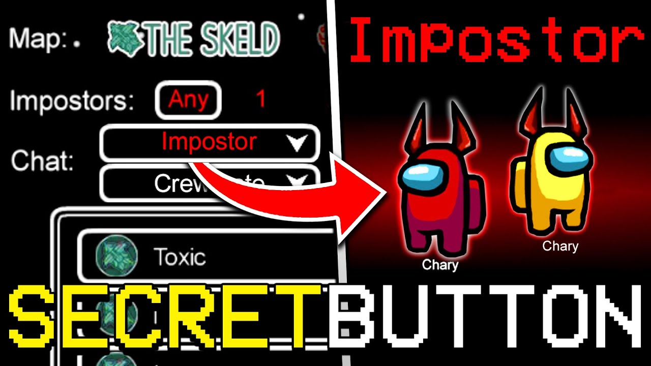 Download SECRET BUTTON TO GET IMPOSTER EVERY TIME IN AMONG US! (iOS/ANDROID/PC)